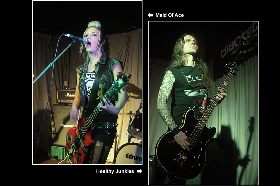 Maid Of Ace / Healthy Junkies